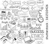 vector illustration of business ... | Shutterstock .eps vector #161510426