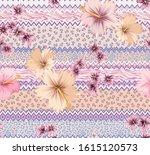 vector seamless graphical...   Shutterstock .eps vector #1615120573