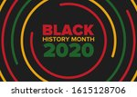 black history month. african... | Shutterstock .eps vector #1615128706