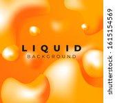 abstract liquid simple... | Shutterstock .eps vector #1615154569