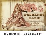 Vintage Style Greeting Card...