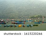 pokhara nepal   21 oct 2019  ... | Shutterstock . vector #1615220266