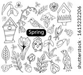 A Set Of Spring Elements In A...