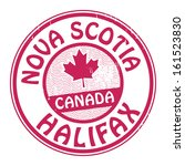 Stamp With Name Of Canada  Nov...