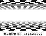 Vector Chess Background. Black...