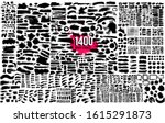 super collection of 1400 black... | Shutterstock .eps vector #1615291873
