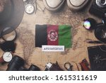 afghanistan flag between... | Shutterstock . vector #1615311619