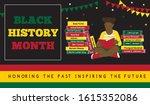 horizontal banner for black... | Shutterstock .eps vector #1615352086