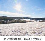 Winter Landscape Near Kvilda I...