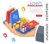 customer loyalty programs as...   Shutterstock .eps vector #1615491046