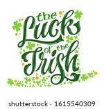 The Luck Of The Irish   Hand...