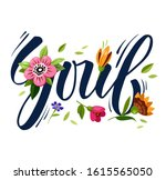 fashionable t shirt design.... | Shutterstock . vector #1615565050