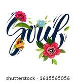 fashionable t shirt design.... | Shutterstock . vector #1615565056