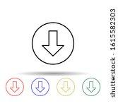 download arrow multi color...