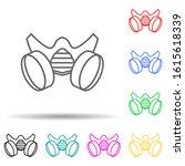 respirator multi color style...