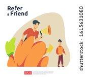 refer a friend illustration...
