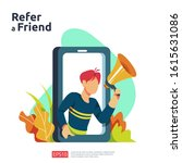 refer a friend illustration...
