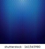 Blue Metallic Grid Texture...