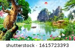 3d Nature Water And  Animals ...