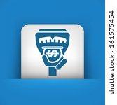 parking meter | Shutterstock .eps vector #161575454