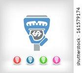 parking meter | Shutterstock .eps vector #161579174