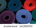 yoga mat | Shutterstock . vector #161583953