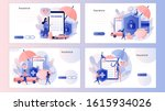 insurance concept. property and ... | Shutterstock .eps vector #1615934026