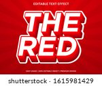 3d text effect template with... | Shutterstock .eps vector #1615981429