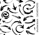 abstract seamless pattern with... | Shutterstock .eps vector #1616024350