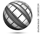film  movie  photo  filmstrip ... | Shutterstock .eps vector #161603114