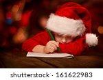 Christmas Helper Child Writing...