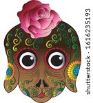 art fantasy dog.hand drawing...   Shutterstock .eps vector #1616235193