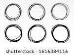 round frames. hand drawn doodle....   Shutterstock .eps vector #1616384116