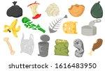 set of different cartoon scraps ...   Shutterstock .eps vector #1616483950