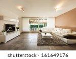 interior  beautiful apartment ... | Shutterstock . vector #161649176