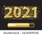 golden confetti with the text... | Shutterstock .eps vector #1616509246