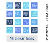 webdesign icon set and raster...