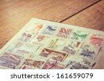 Album Of Old Yugoslavian Stamp...
