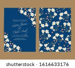 wedding invitation card with... | Shutterstock .eps vector #1616633176