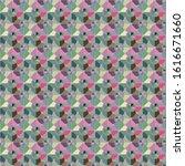 seamless vector pattern in... | Shutterstock .eps vector #1616671660