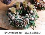 Beautiful Homemade Advent Wreath