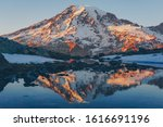 Mount Rainier Reflection At...
