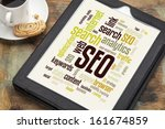 cloud of words or tags related... | Shutterstock . vector #161674859