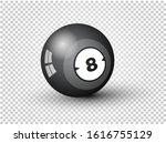 billiard ball of pool or...