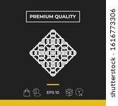 geometric arabic pattern. logo. ...   Shutterstock .eps vector #1616773306