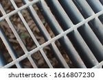 Storm Drain Cover With Blurred...