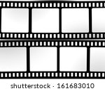 film  movie  photo  filmstrip ... | Shutterstock .eps vector #161683010
