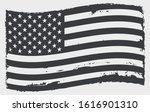 vector american flag.grunge... | Shutterstock .eps vector #1616901310