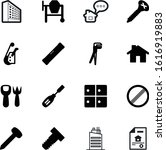 construction vector icon set...