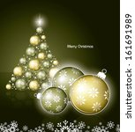 christmas background. abstract...   Shutterstock .eps vector #161691989